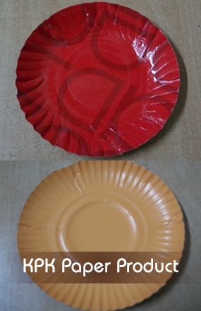 Multi Color Printed Paper Plates & Printed Round and Rectangular Shaped Paper Plates KPK Paper Plates ...